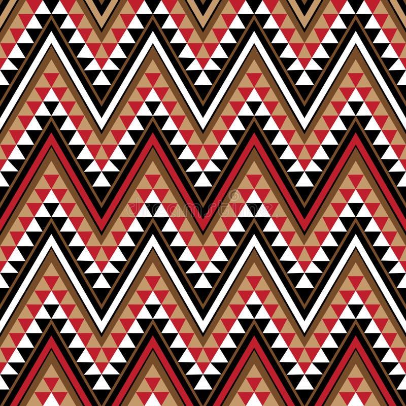 Etniczny motyw jako kawałek Afrykanina wzór ilustracji