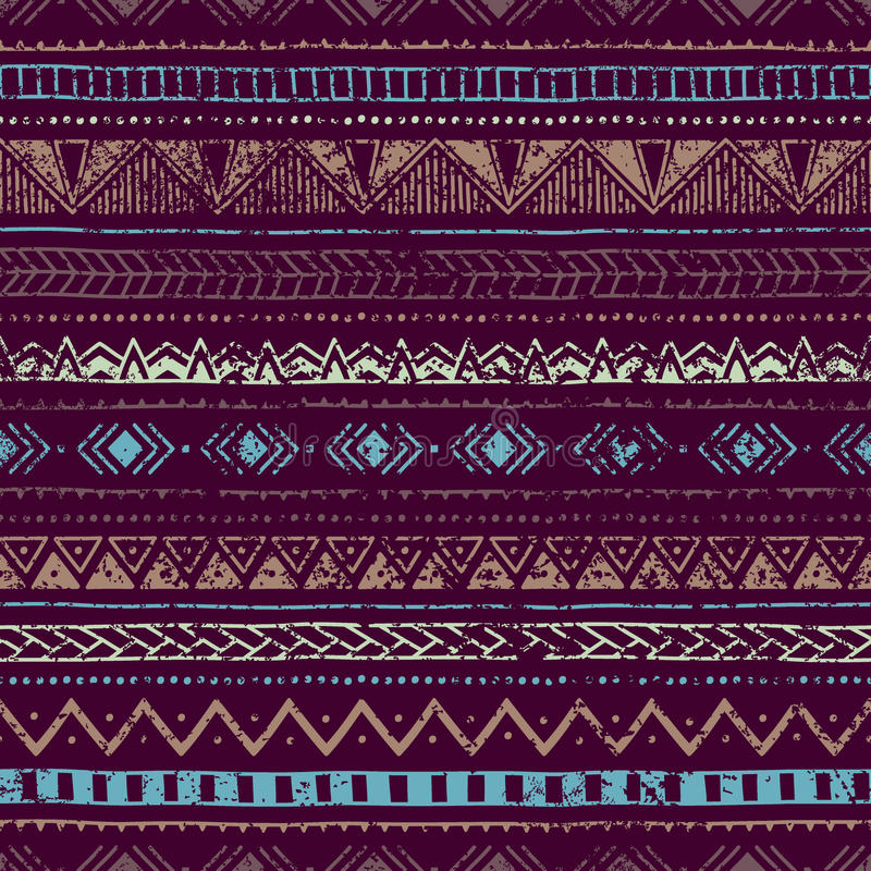 Download Etniczny Rocznika Tło Błękita I Purpur Kolory Ilustracja Wektor - Ilustracja złożonej z ornament, wyznaczający: 57657348