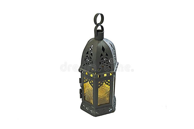 Etniczny szklany lampion zdjęcia stock