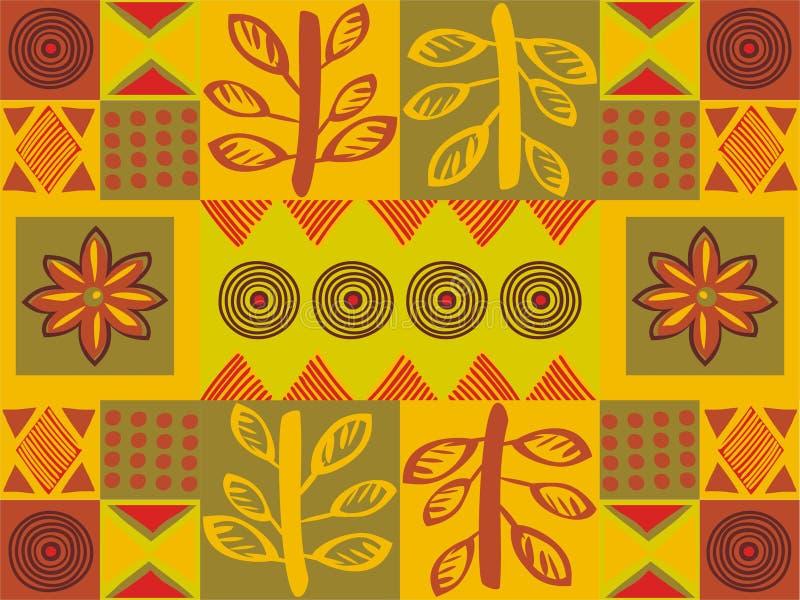 etniczny wzór royalty ilustracja