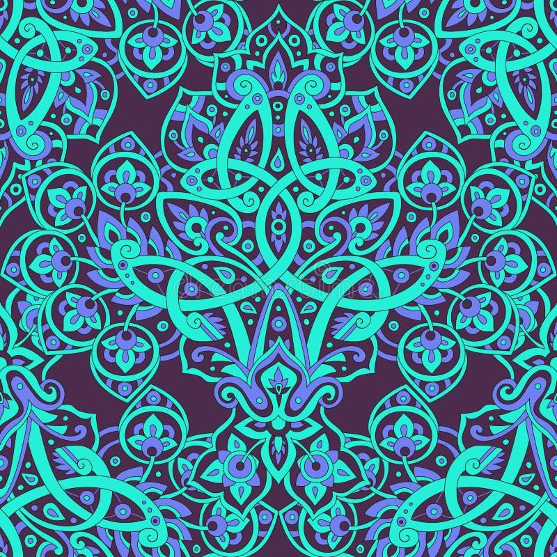 Etnisch naadloos patroon vector illustratie