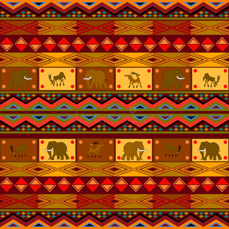 Etnisch patroon vector illustratie