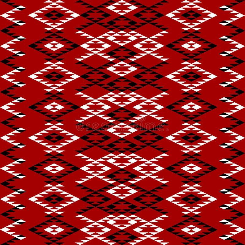 Etnisch textuurontwerp vector illustratie