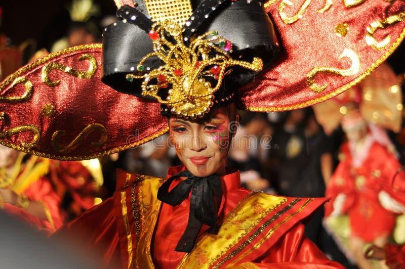 Etnische Danser stock foto's