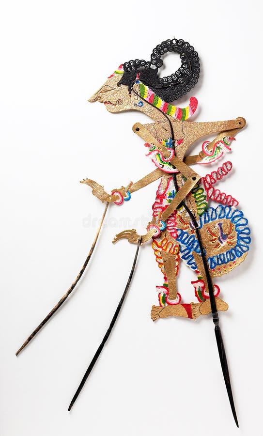 Etnische marionet stock foto's