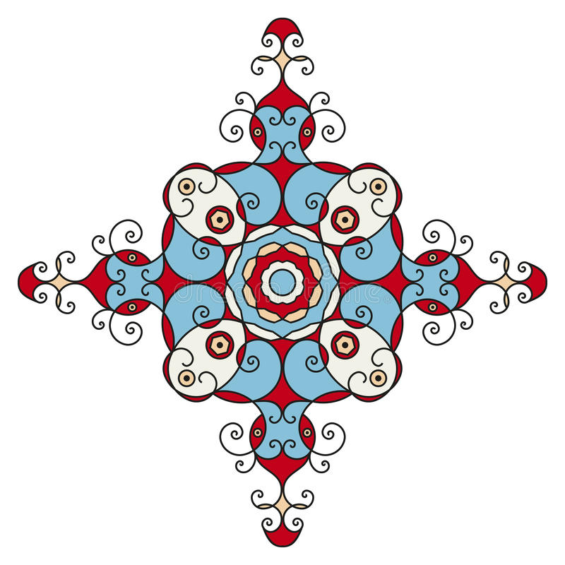Etnische ster vector illustratie