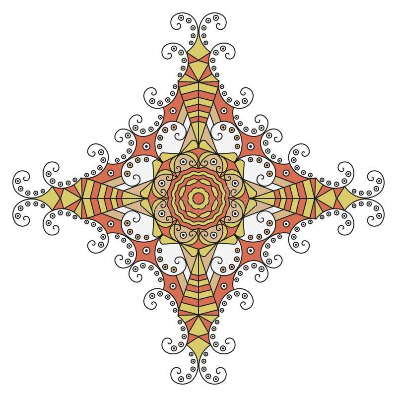 Etnische ster royalty-vrije illustratie