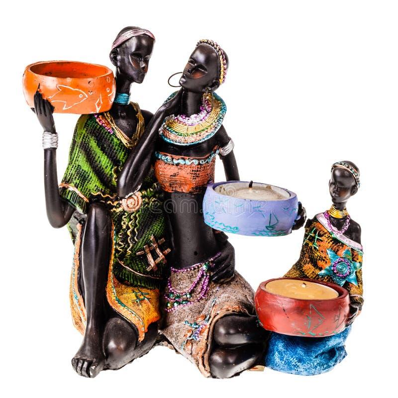 etnisk familj arkivbild