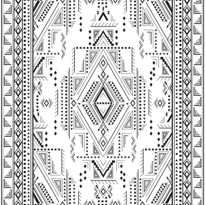 Etnisk geometrisk modell arkivfoton
