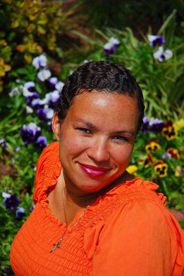 etnisk kvinna arkivfoto