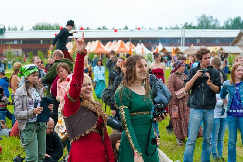 etnisk musik royaltyfria bilder