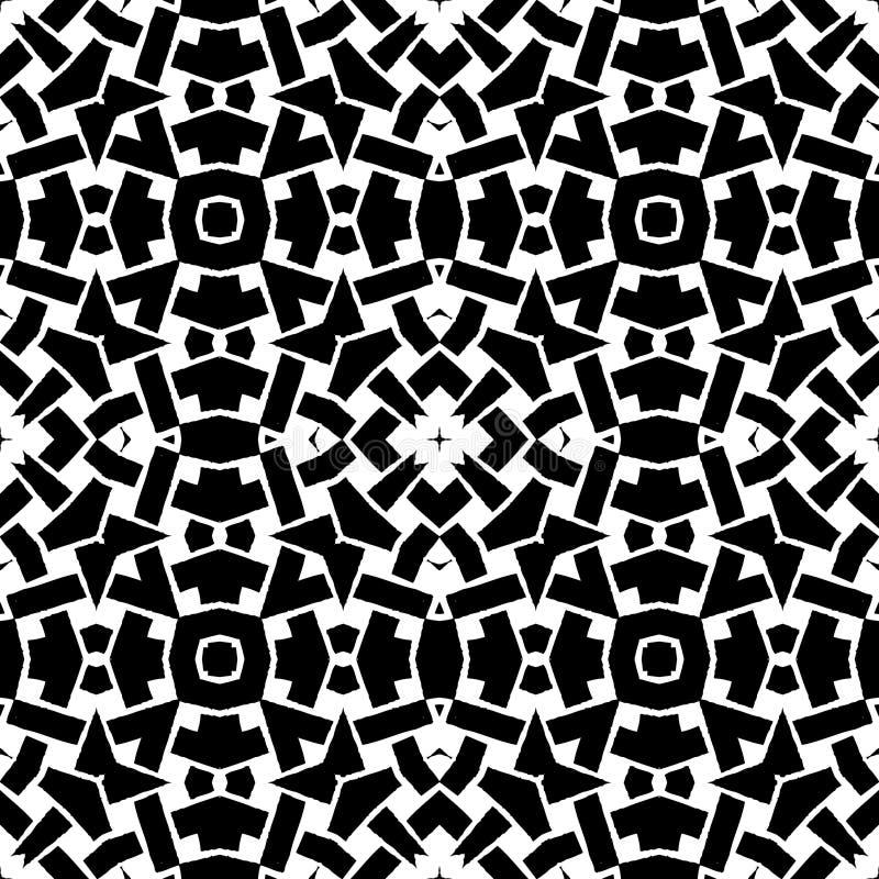 etnisk seamless vektor för abstrakt bakgrund stock illustrationer