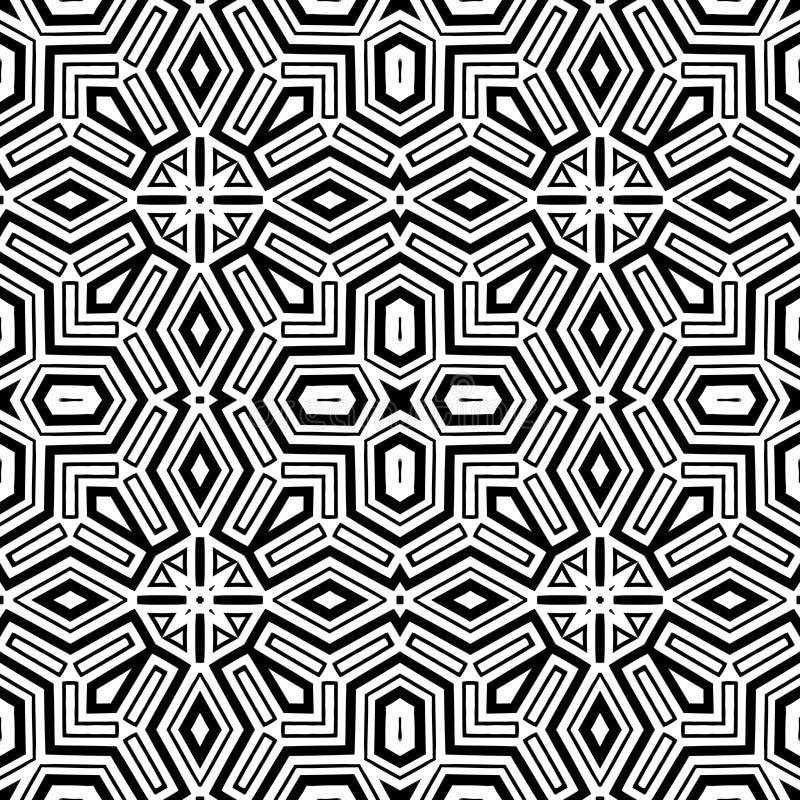 etnisk seamless vektor för abstrakt bakgrund royaltyfri illustrationer