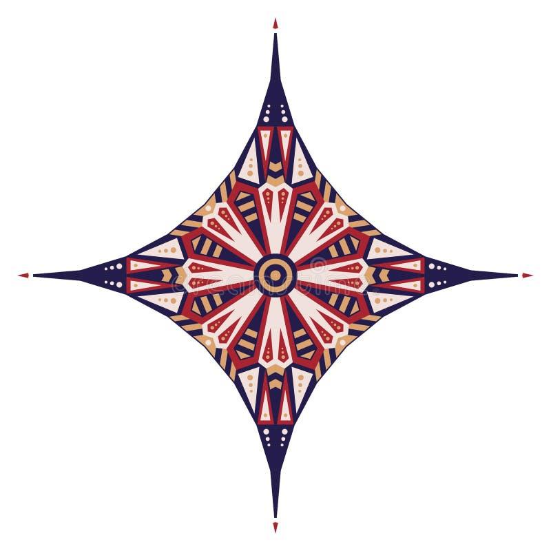 Etnisk stjärna arkivfoton