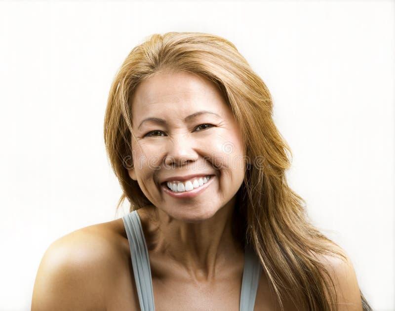 etnisk vit kvinna för bakgrund royaltyfri fotografi