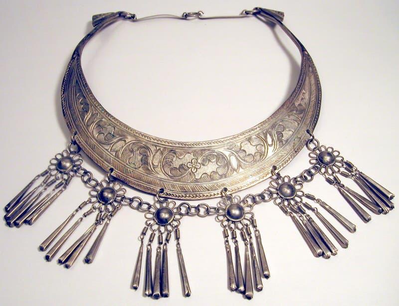 etniskt halsband arkivfoton
