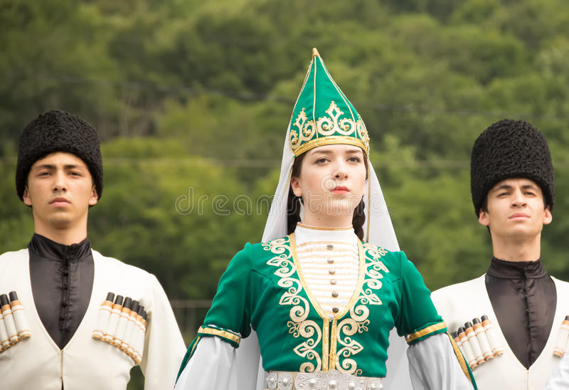 Etno节日 库存图片