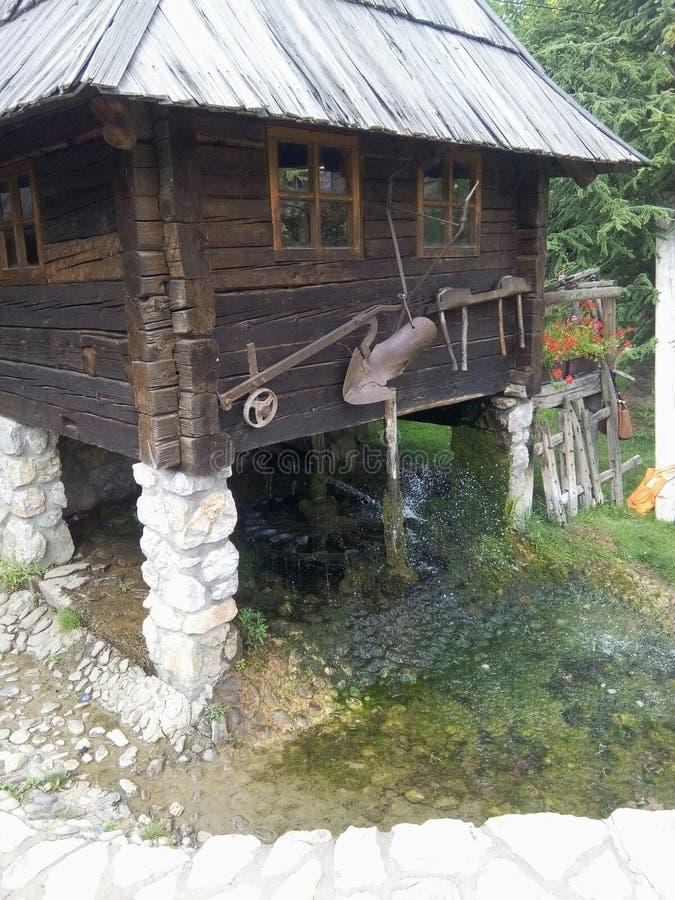 Etno-Haus stockfoto