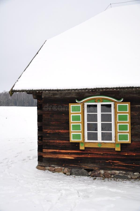 etnographic окно стоковое фото