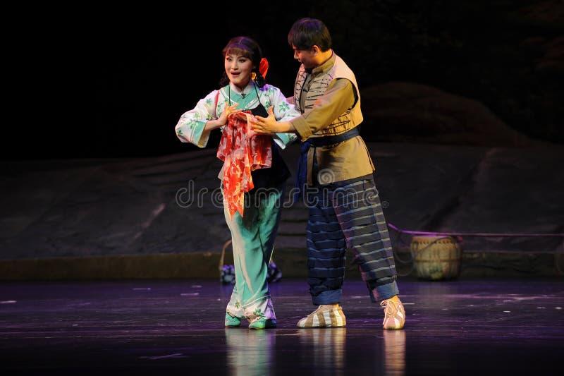 Żeton miłości Jiangxi opera bezmian obraz royalty free