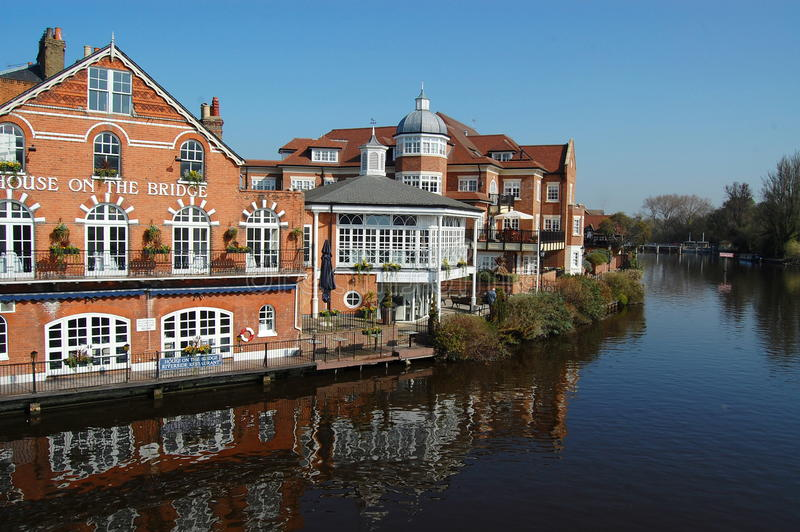 Download Eton and the Thames editorial photo. Image of river, house - 28786436