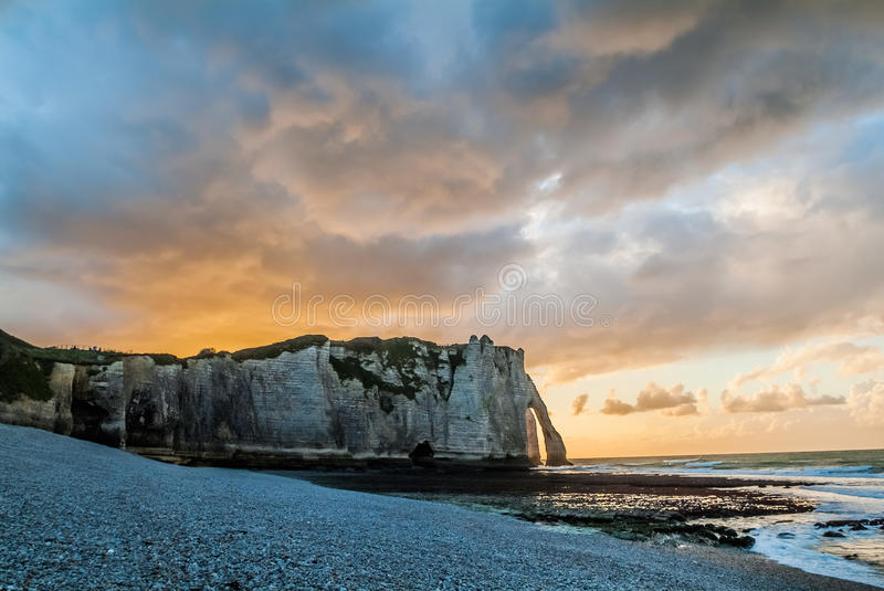 Download Etretat Beach In Normandie France Editorial Photography - Image: 27747357