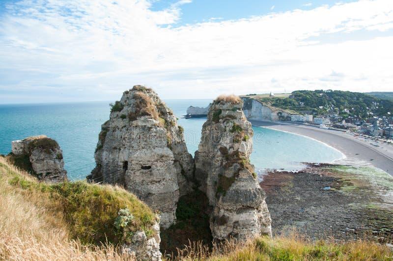Etretat, France stock photo