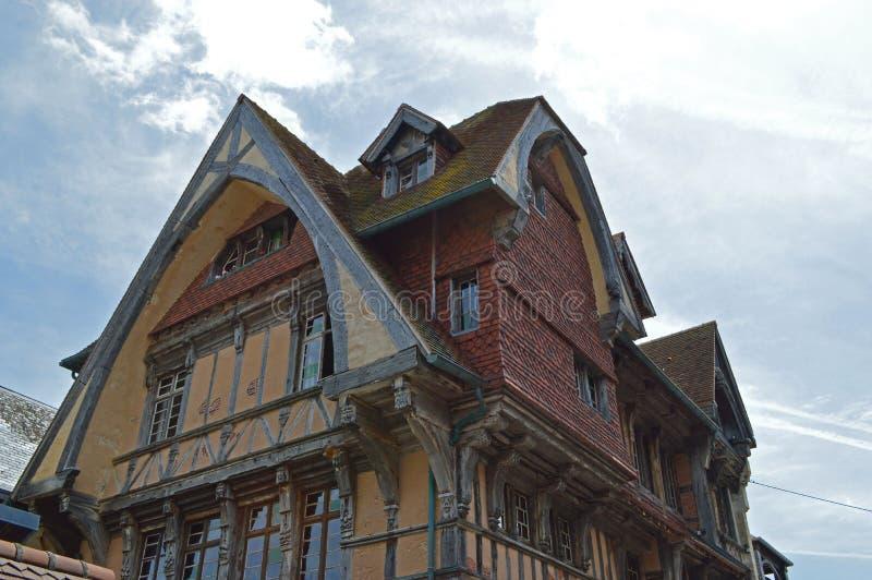 Etretat i Fecamp, Frankrike royaltyfri fotografi
