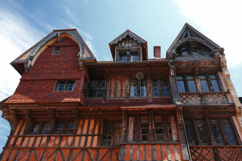 Etretat jest miastem w Francja fotografia royalty free