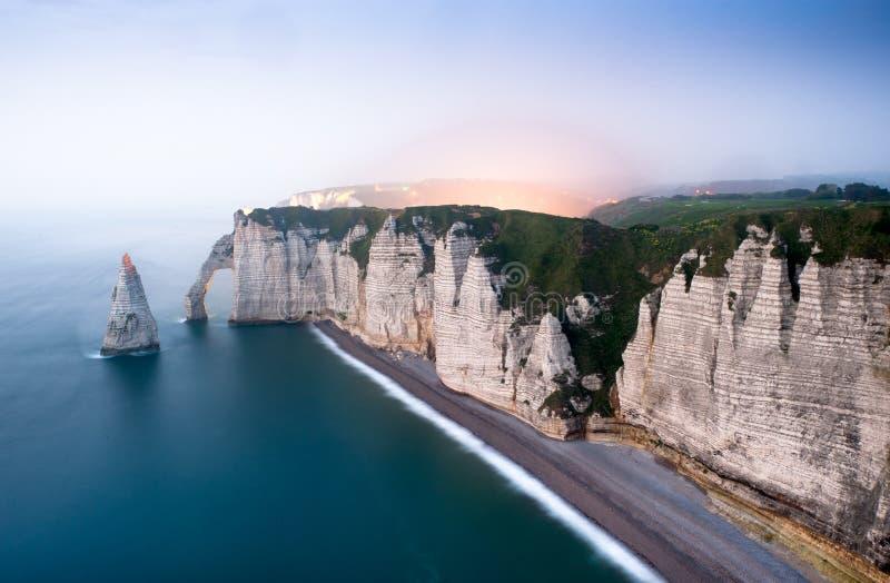 Etretat - Normandie - Frankreich stockfotos