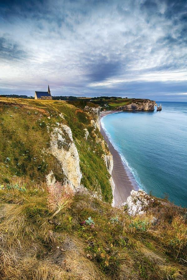 Etretat, Normandy obrazy royalty free