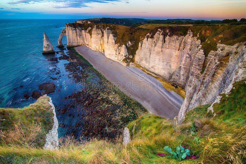 Etretat, Normandy royalty free stock image