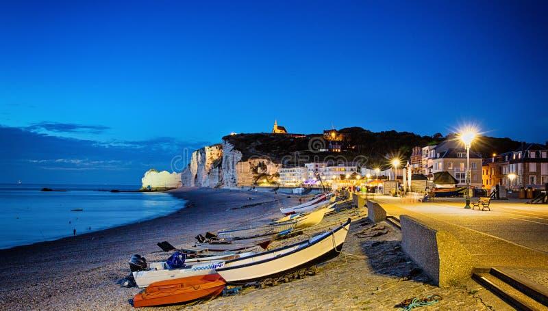 Etretat Normandy, Francja zdjęcia royalty free
