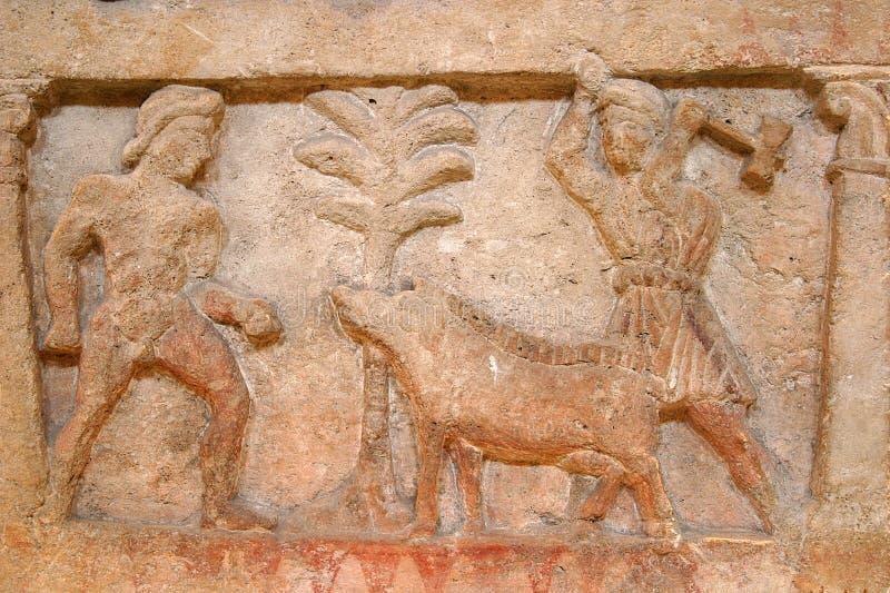 etruscan royalty-vrije stock afbeelding