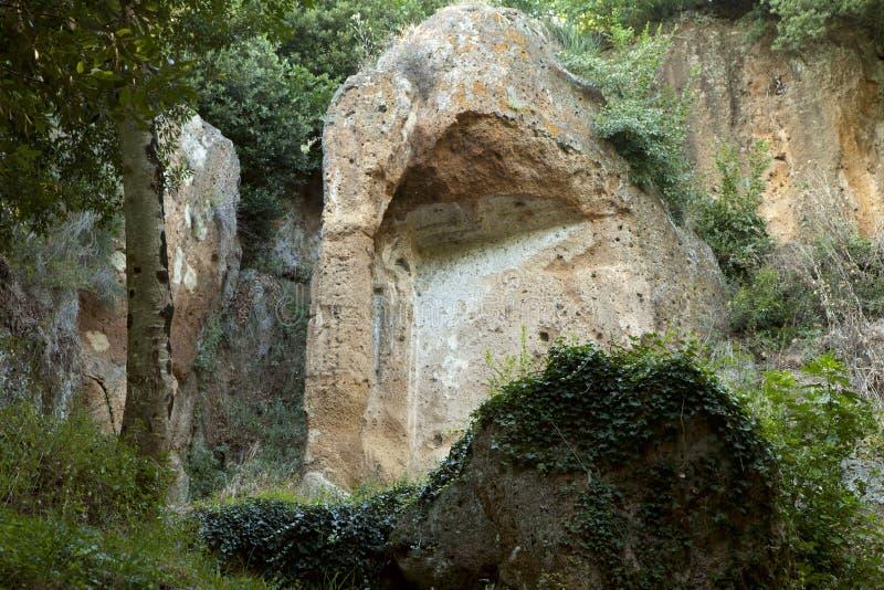 etruscan grobowowie obrazy royalty free