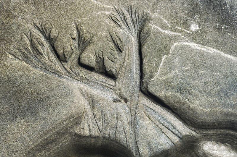 Etsning för sand för natur` s royaltyfri bild