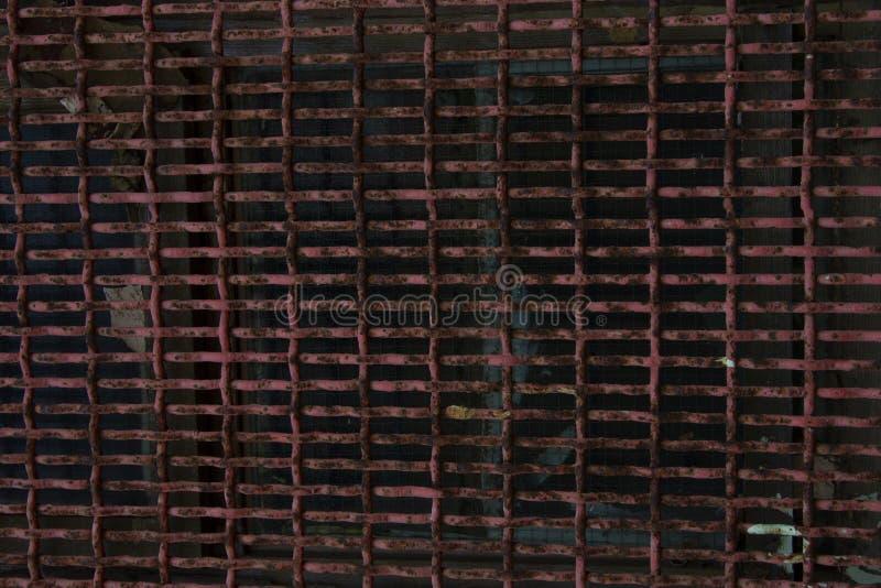 Ett ark av gammal rostig metallyttersida abstrakt bakgrund metallisk textur f?r bakgrund arkivfoto