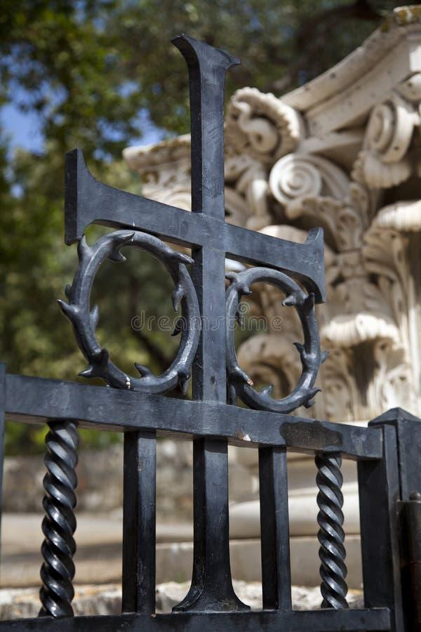 Kor på Gethsemane royaltyfri fotografi