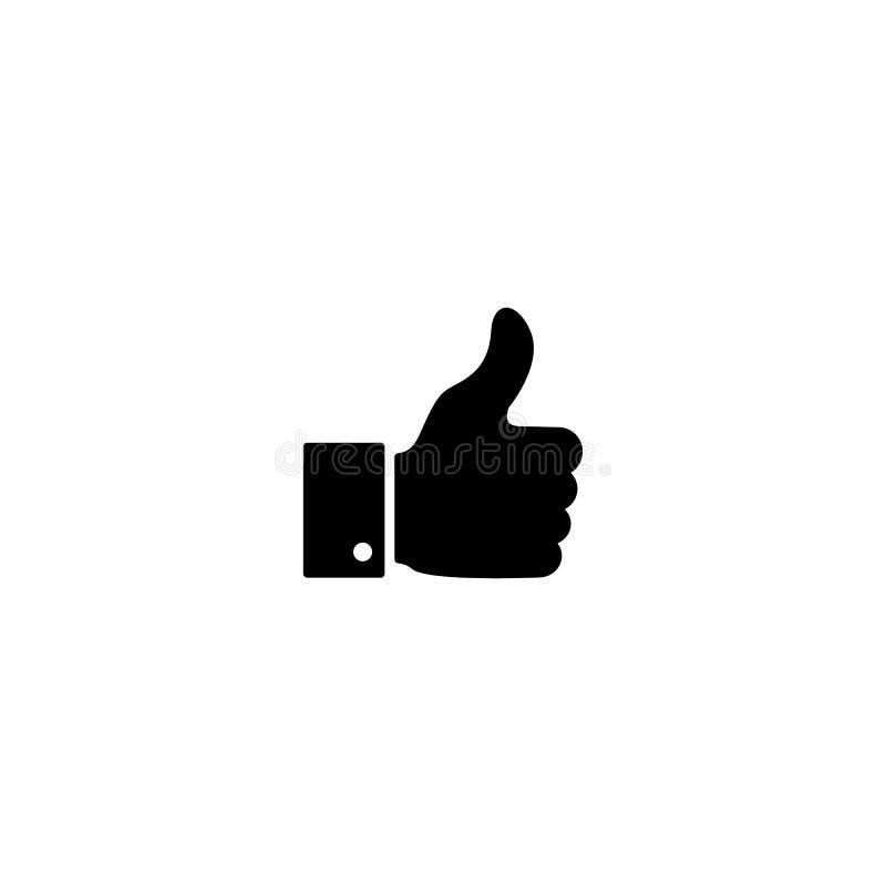 Ett bra, som nyheterna, arbetar, instämmer, bekräftar symbolen stock illustrationer