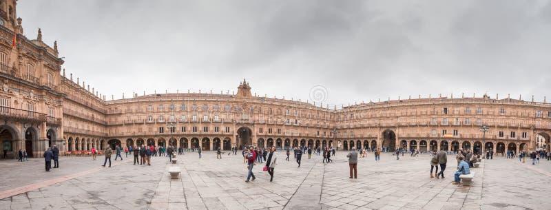 Ett centralt ställe i staden, Plazaborgmästaren royaltyfri foto