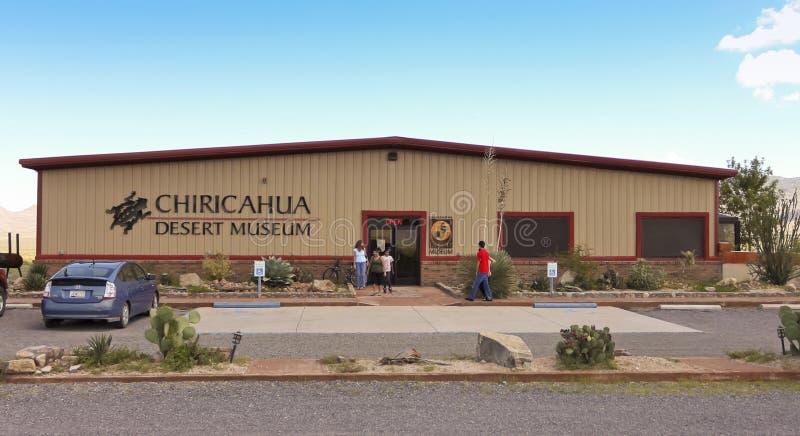 Ett Chiricahua ökenmuseum, rodeo som är ny - Mexiko royaltyfria bilder