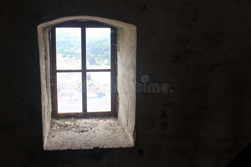 Ett fönster till världen royaltyfria foton