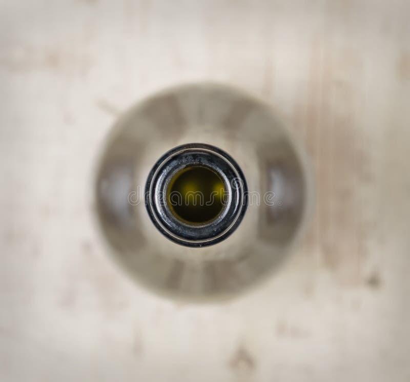 Ett huvud för vinflaska arkivfoto