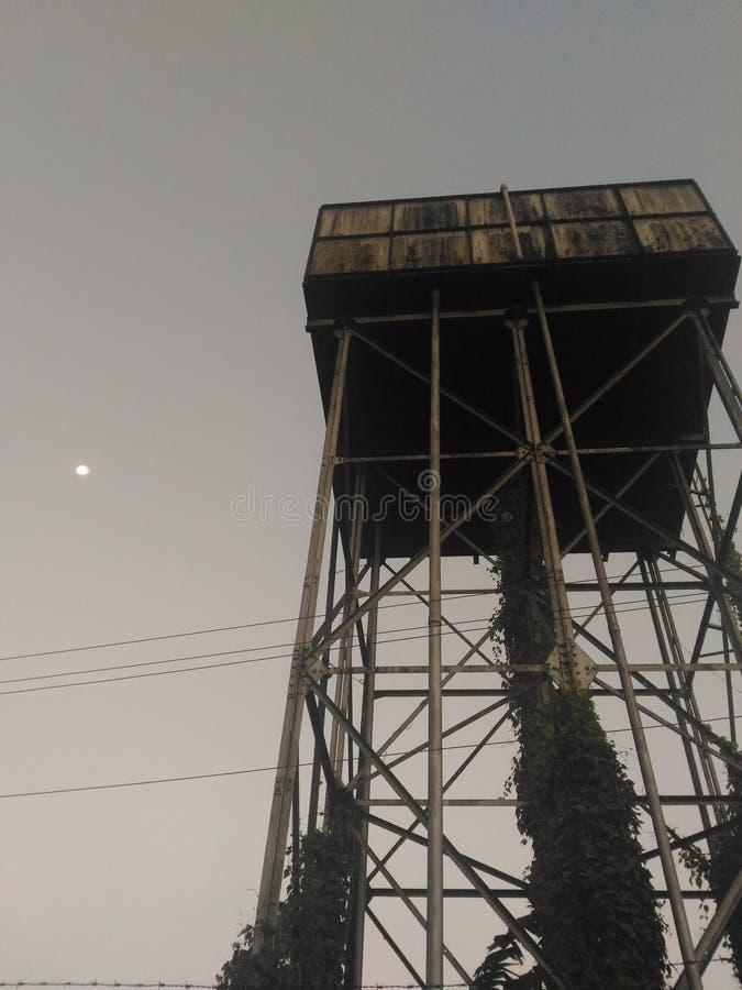 Ett landskap av morgontid arkivbild