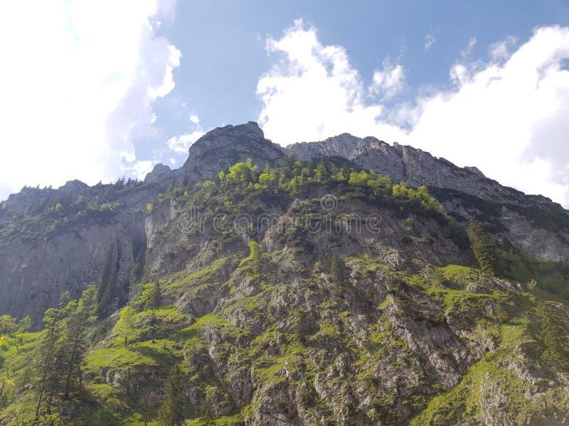 Ett mäktigt berg arkivfoto