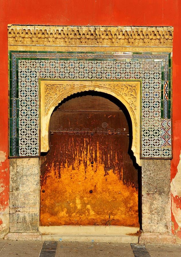Ett moorishhus i Cordoba, Spanien royaltyfri bild