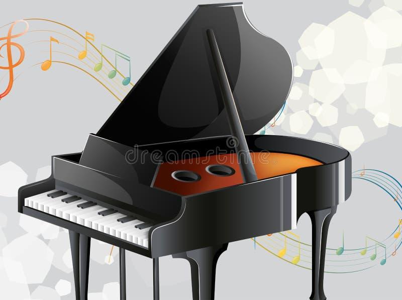 Ett musikinstrument royaltyfri illustrationer