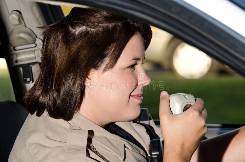 Ett patrullfelanmälan arkivfoto