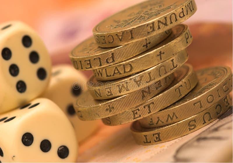 ett pund sterling uk royaltyfri fotografi