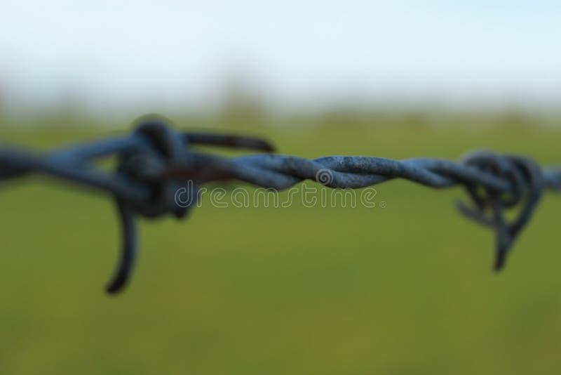 Ett rep som binds runt om en pelare fotografering för bildbyråer